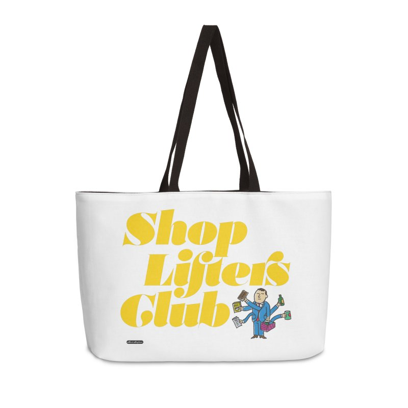 Shoplifters Club Accessories Weekender Bag Bag by DRAWMARK