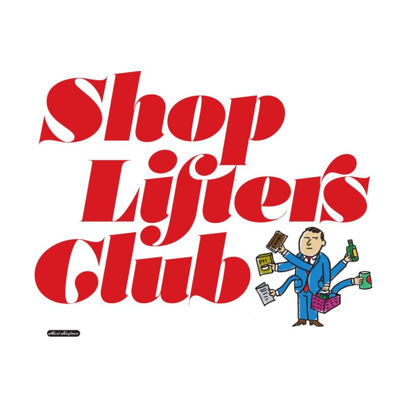 Shoplifters Club Code Red by DRAWMARK