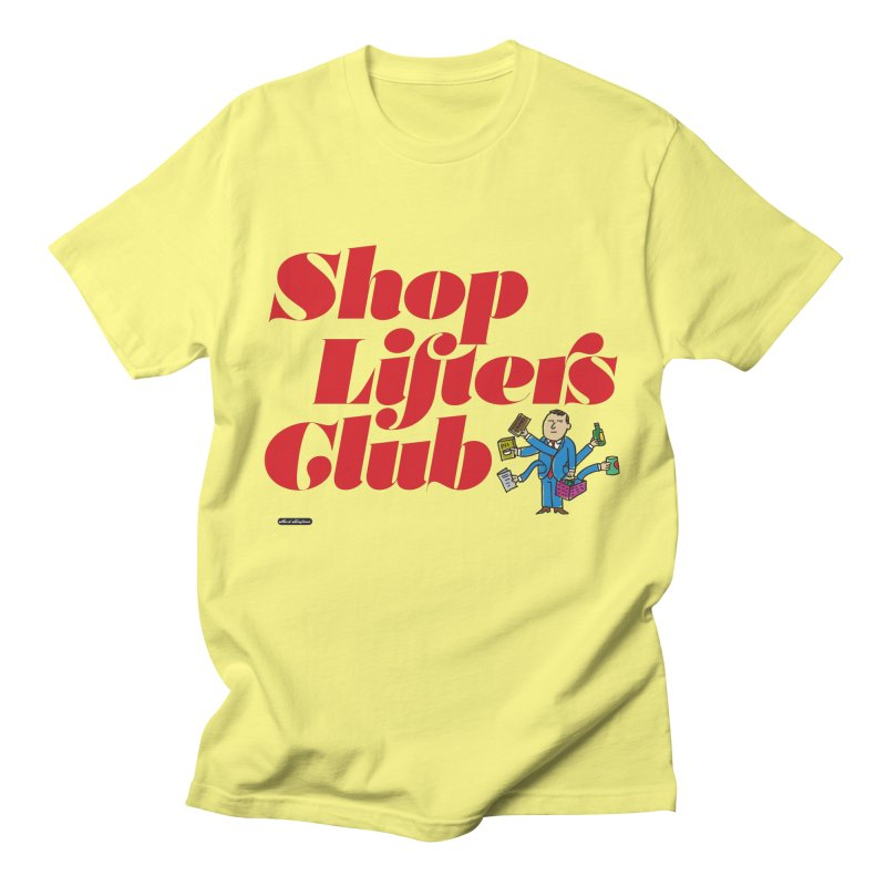 Shoplifters Club Code Red Men's T-Shirt by DRAWMARK