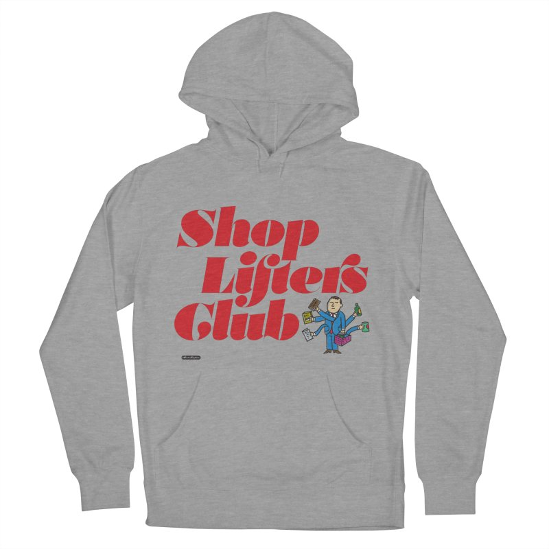 Shoplifters Club Code Red Men's French Terry Pullover Hoody by DRAWMARK
