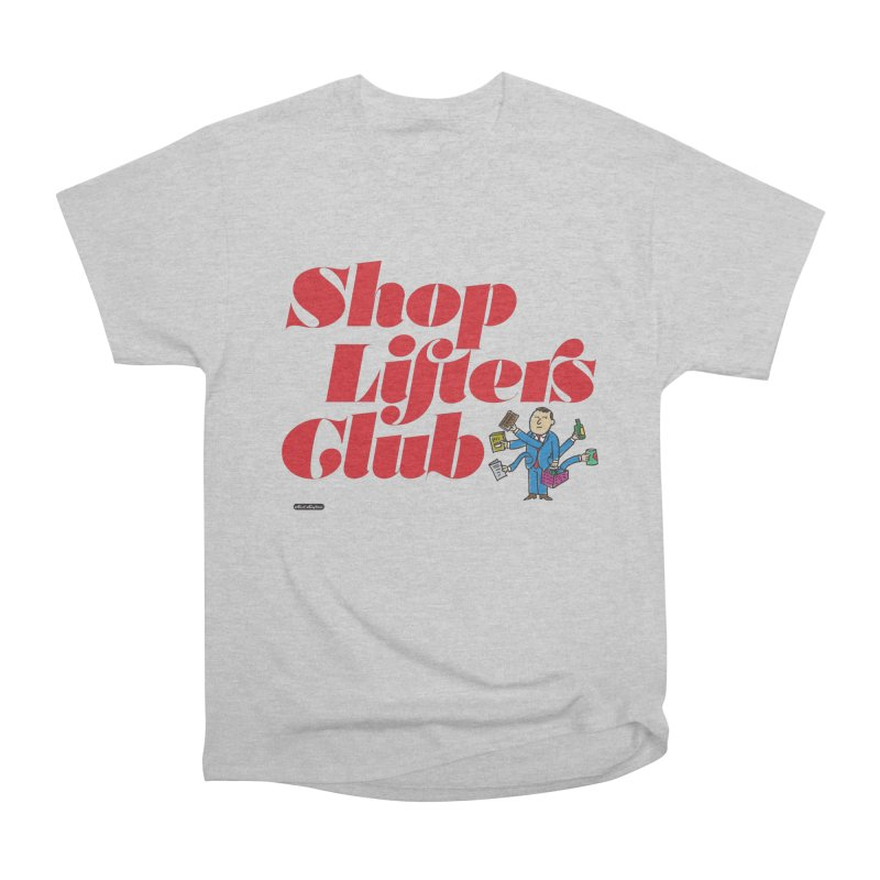Shoplifters Club Code Red Men's Heavyweight T-Shirt by DRAWMARK