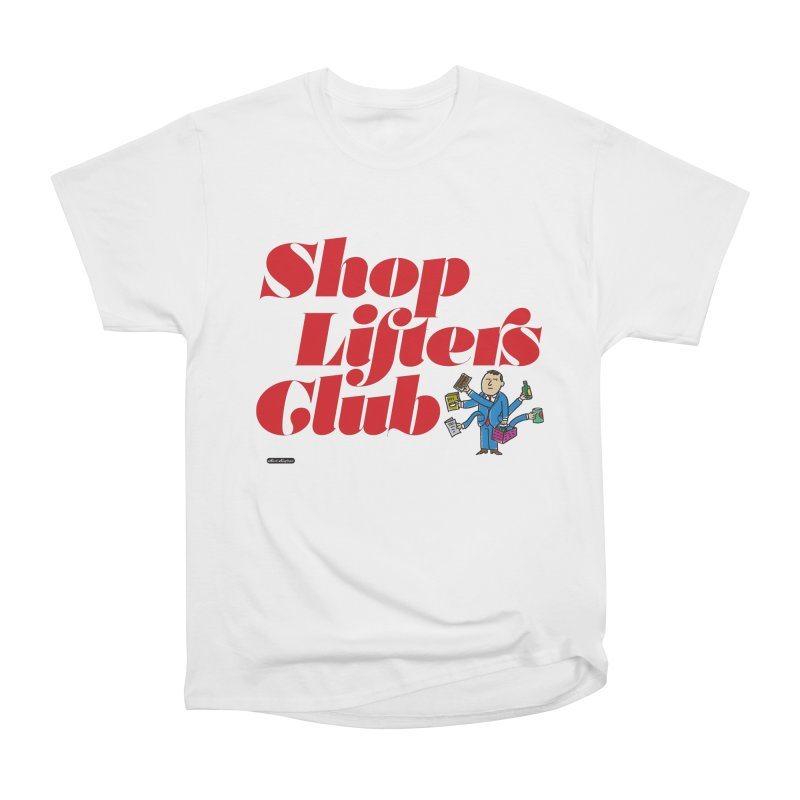 Shoplifters Club Code Red Women's Heavyweight Unisex T-Shirt by DRAWMARK