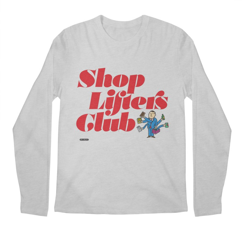 Shoplifters Club Code Red Men's Regular Longsleeve T-Shirt by DRAWMARK