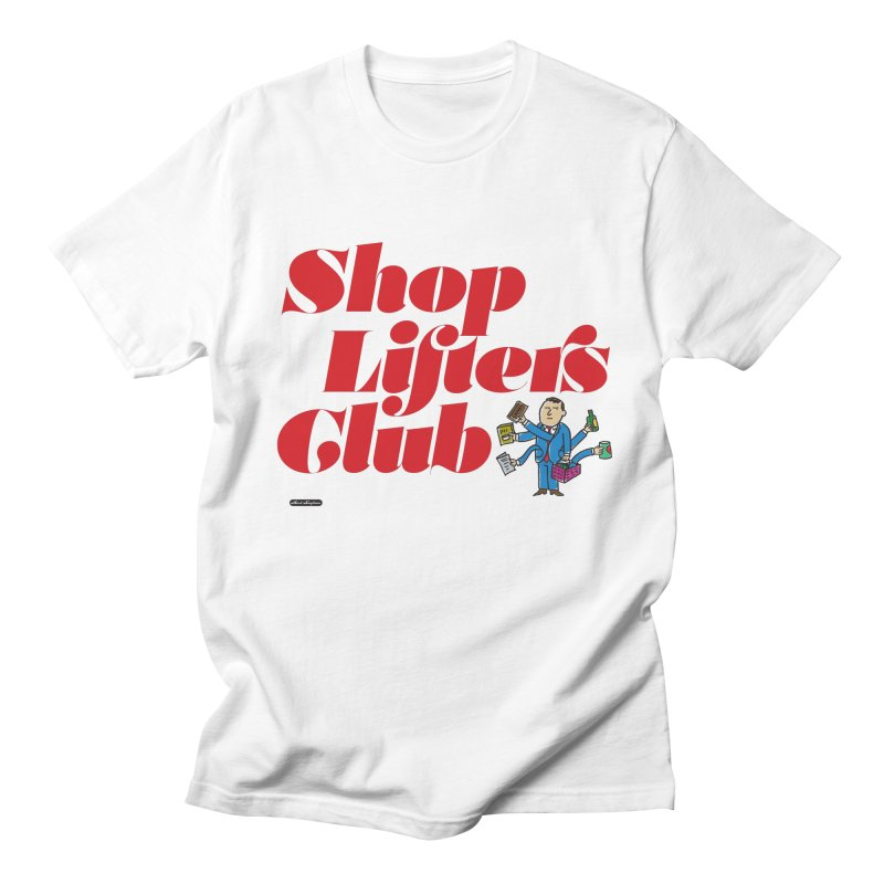 Shoplifters Club Code Red Men's Regular T-Shirt by DRAWMARK