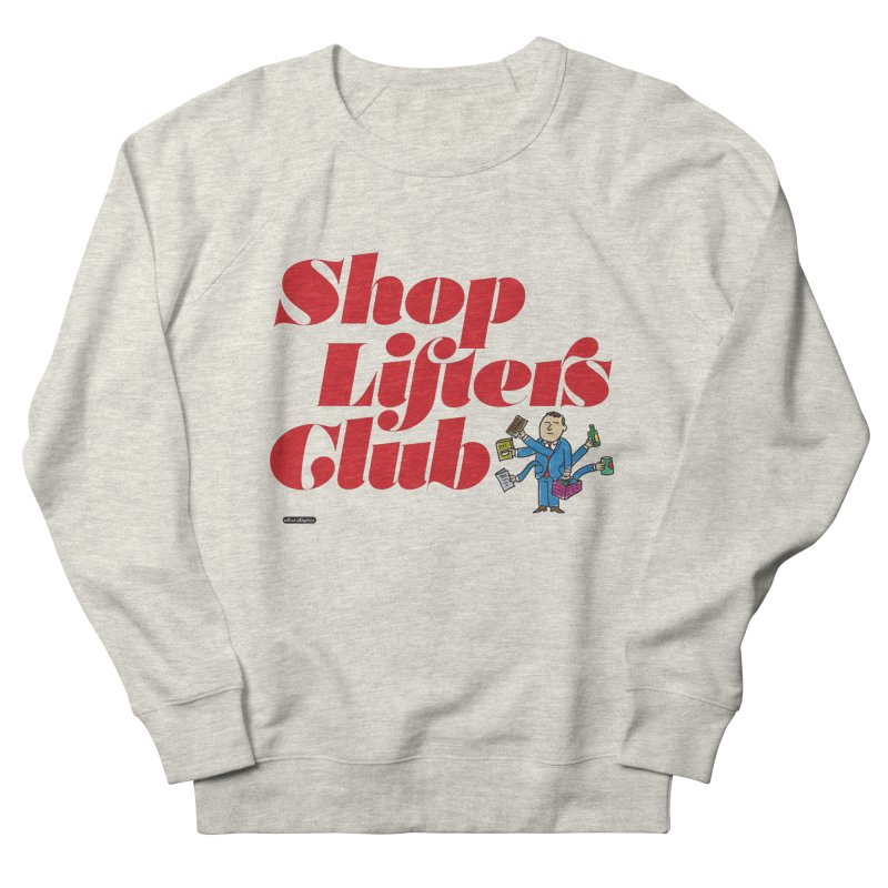 Shoplifters Club Code Red Men's French Terry Sweatshirt by DRAWMARK