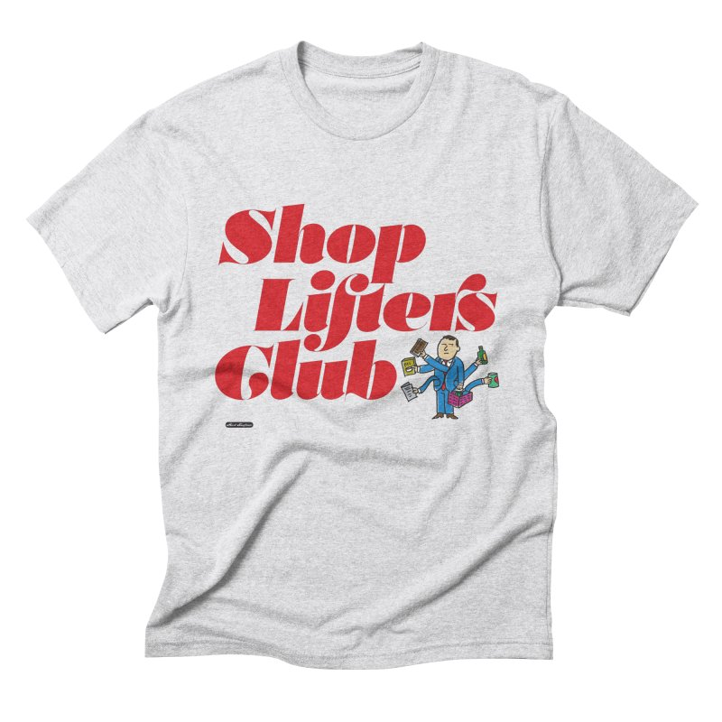 Shoplifters Club Code Red Men's Triblend T-Shirt by DRAWMARK