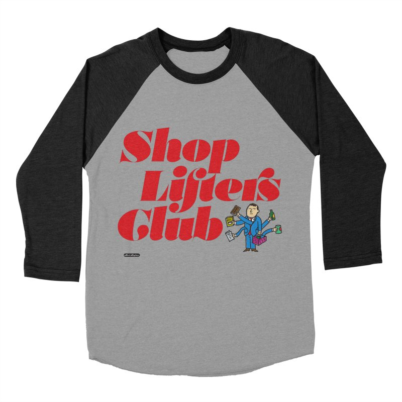 Shoplifters Club Code Red Women's Baseball Triblend Longsleeve T-Shirt by DRAWMARK