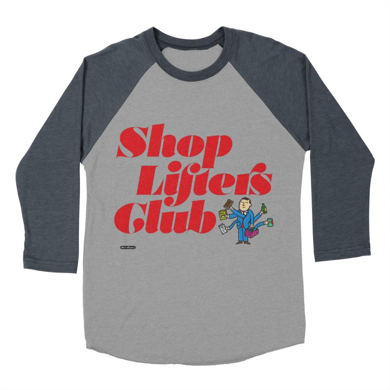 Shoplifters Club Code Red Men's Baseball Triblend Longsleeve T-Shirt by DRAWMARK