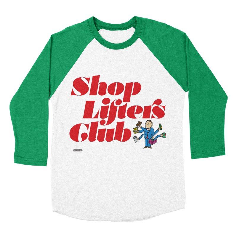 Shoplifters Club Code Red Men's Baseball Triblend Longsleeve T-Shirt by DRAWMARK