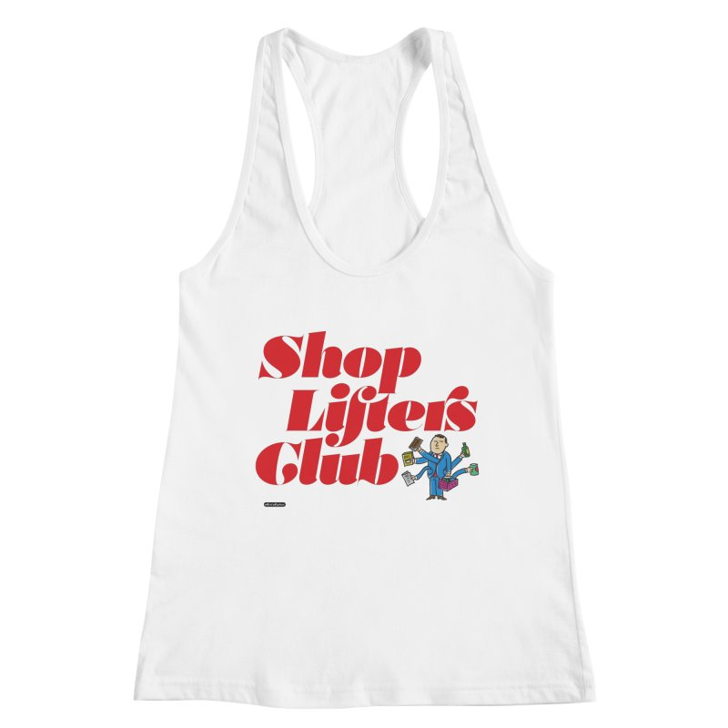 Shoplifters Club Code Red Women's Tank by DRAWMARK