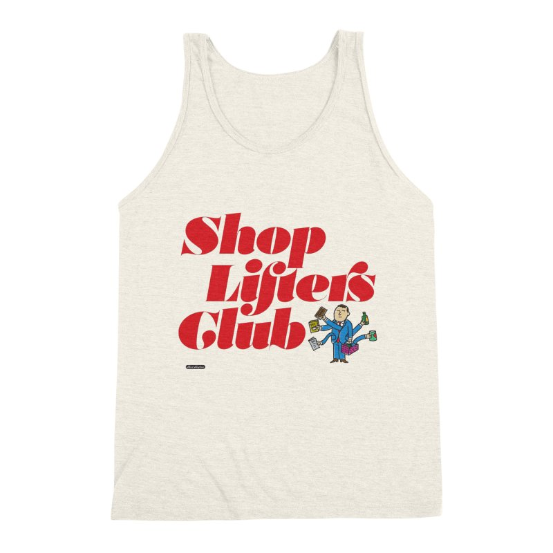 Shoplifters Club Code Red Men's Triblend Tank by DRAWMARK
