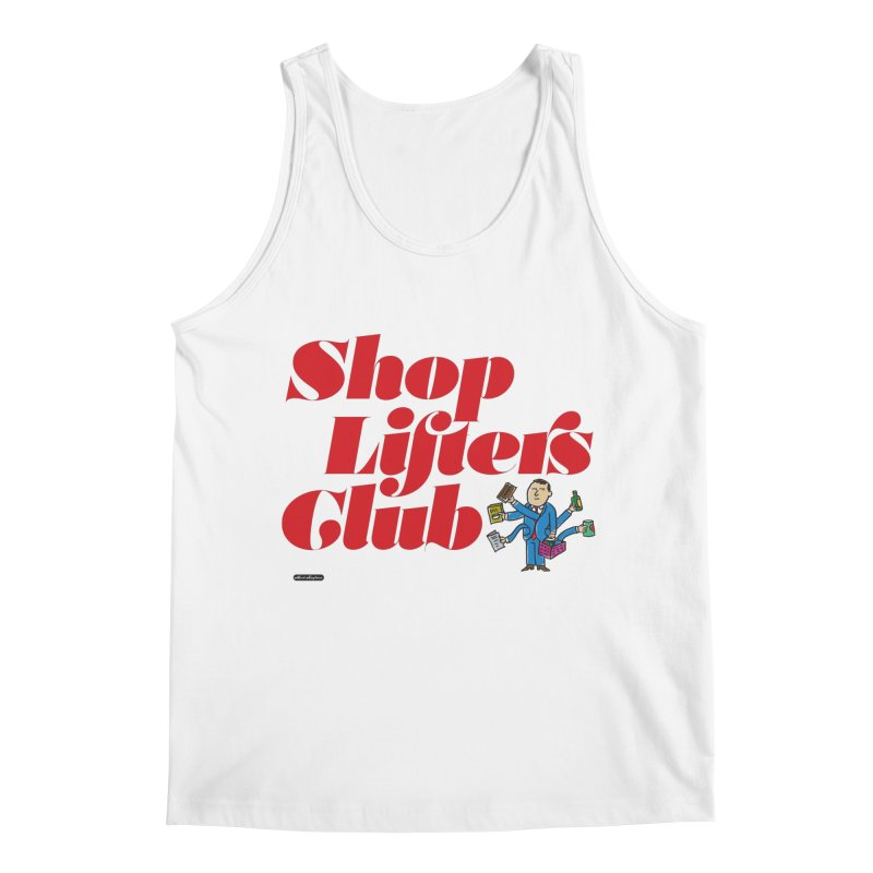 Shoplifters Club Code Red Men's Regular Tank by DRAWMARK
