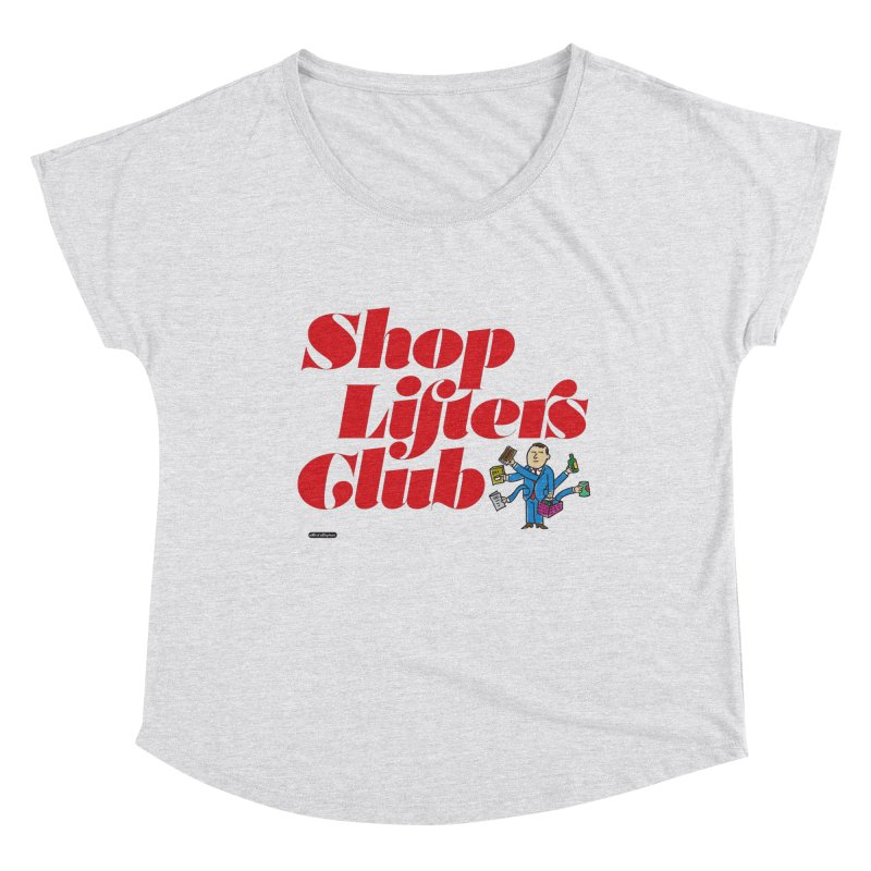 Shoplifters Club Code Red Women's Scoop Neck by DRAWMARK