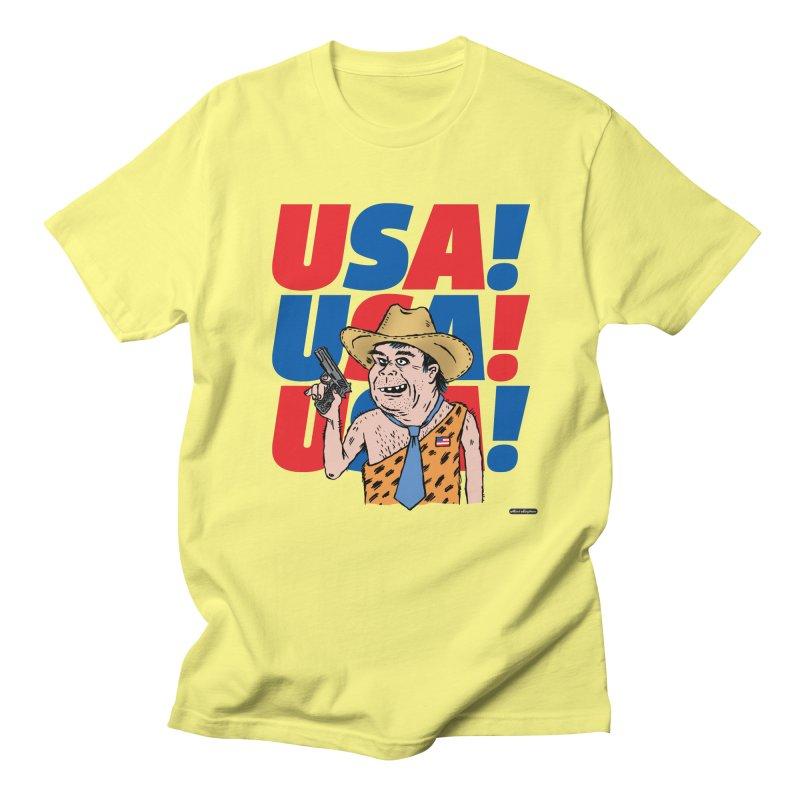 USA! USA! USA! Men's Regular T-Shirt by DRAWMARK