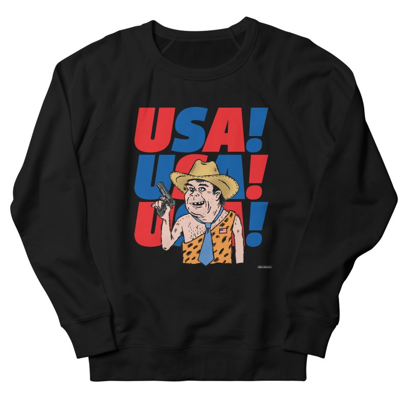 USA! USA! USA! Women's Sweatshirt by DRAWMARK