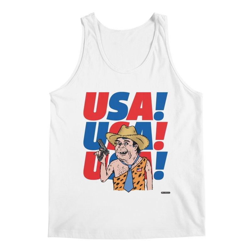USA! USA! USA! Men's Tank by DRAWMARK