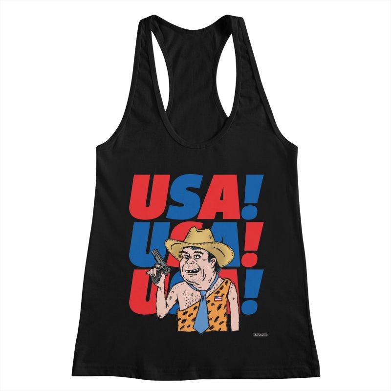USA! USA! USA! Women's Tank by DRAWMARK