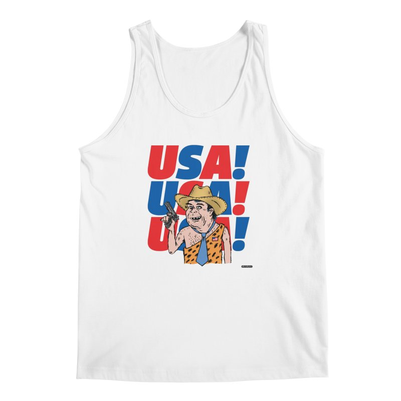 USA! USA! USA! Men's Regular Tank by DRAWMARK