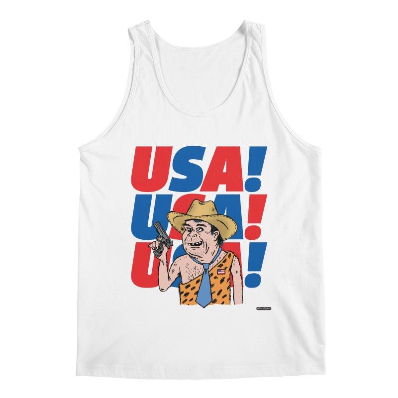 USA! USA! USA! Men's Regular Tank by DRAWMARK