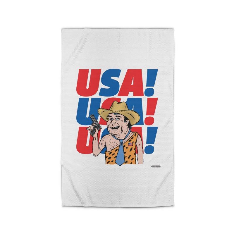 USA! USA! USA! Home Rug by DRAWMARK