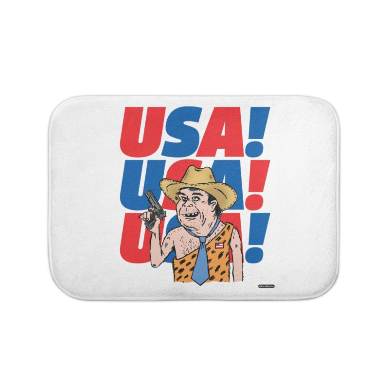 USA! USA! USA! Home Bath Mat by DRAWMARK