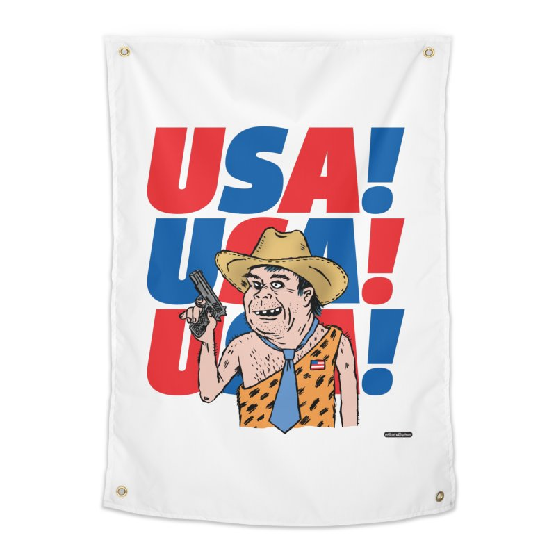 USA! USA! USA! Home Tapestry by DRAWMARK