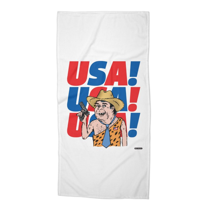 USA! USA! USA! Accessories Beach Towel by DRAWMARK