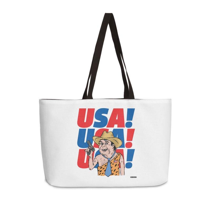 USA! USA! USA! Accessories Weekender Bag Bag by DRAWMARK