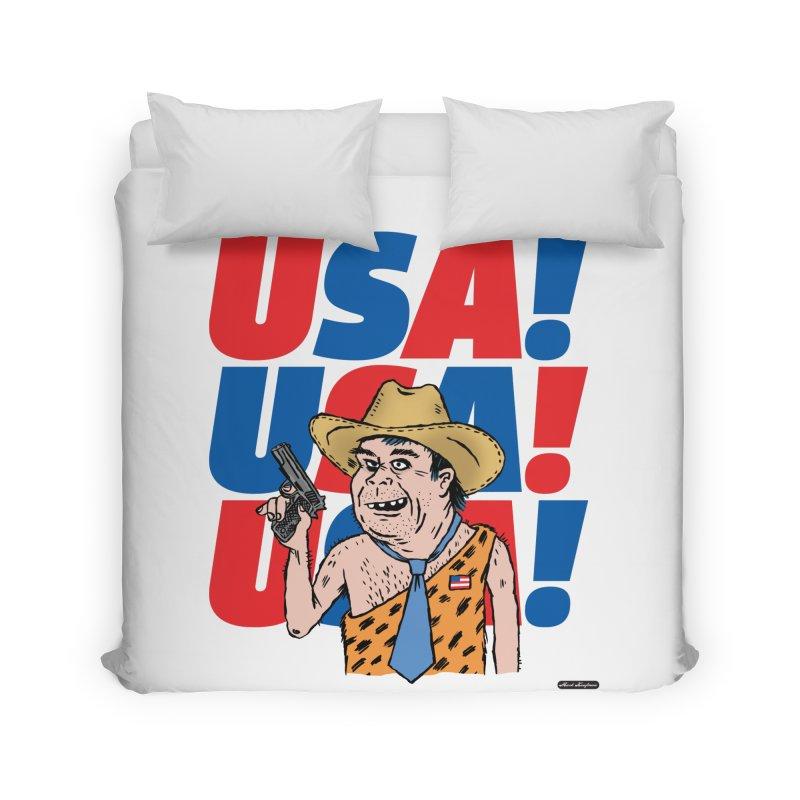 USA! USA! USA! Home Duvet by DRAWMARK