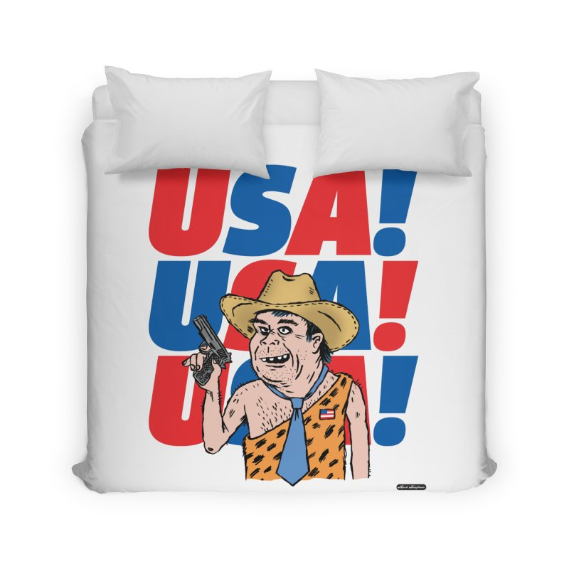 USA! USA! USA! Home Duvet by DRAWMARK