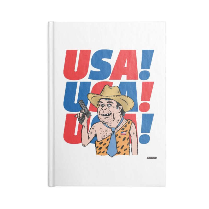 USA! USA! USA! Accessories Lined Journal Notebook by DRAWMARK