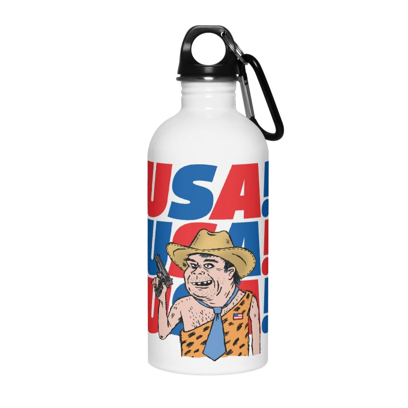 USA! USA! USA! Accessories Water Bottle by DRAWMARK