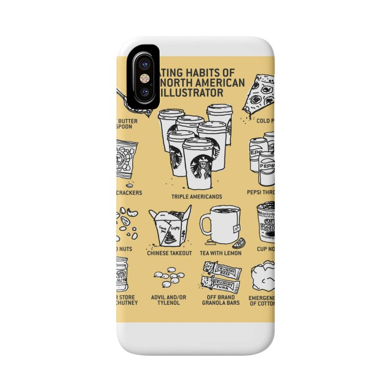 Eating Habits of the North American Illustrator Accessories  by DRAWMARK