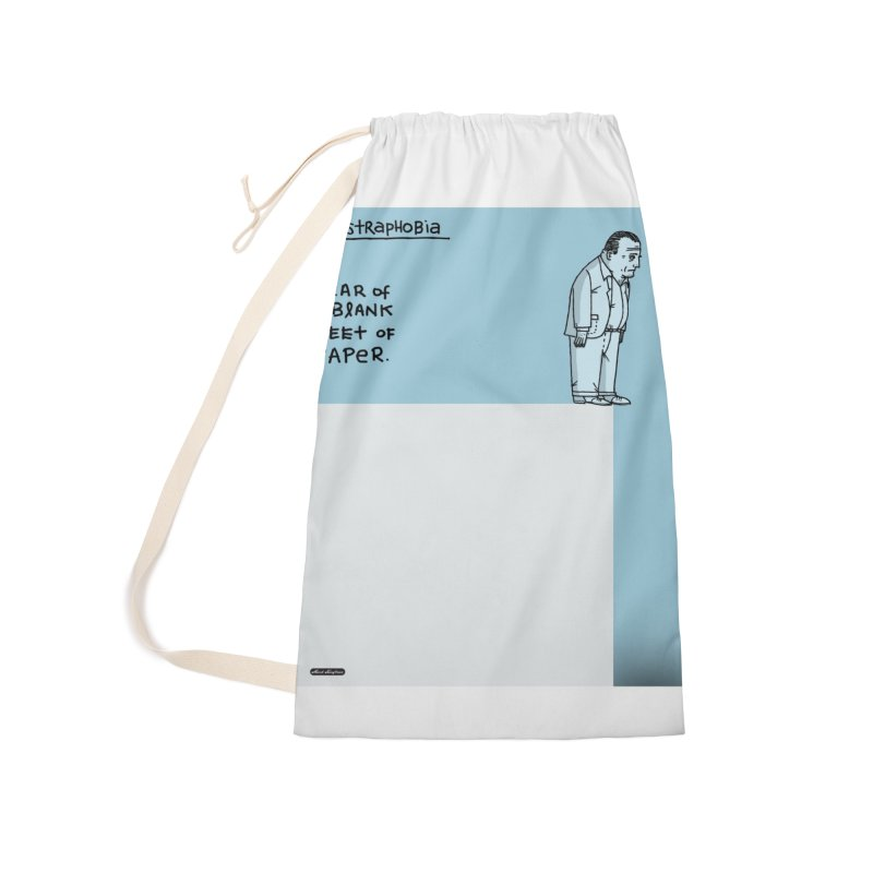 Illustraphobia Accessories Laundry Bag Bag by DRAWMARK