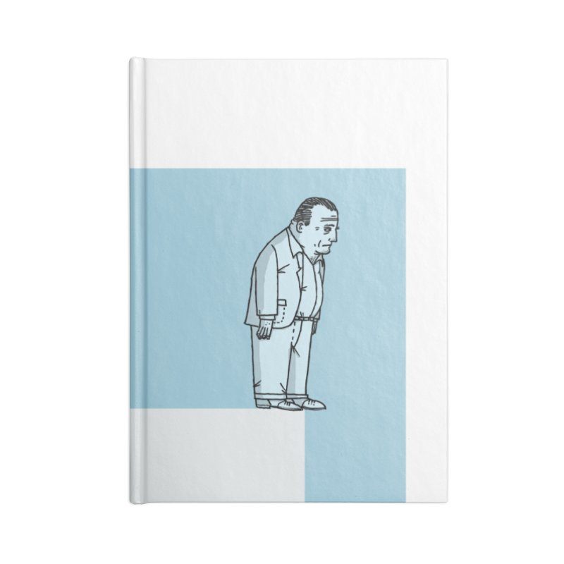 Illustraphobia Accessories Lined Journal Notebook by DRAWMARK