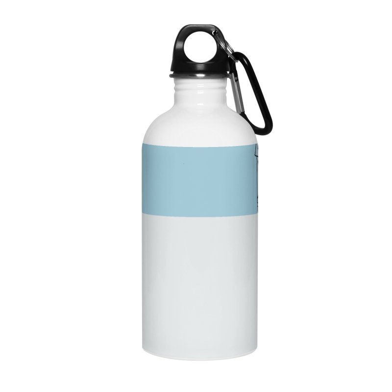Illustraphobia Accessories Water Bottle by DRAWMARK