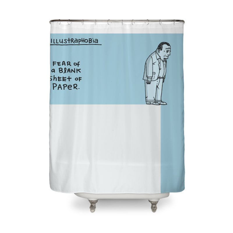 Illustraphobia Home Shower Curtain by DRAWMARK