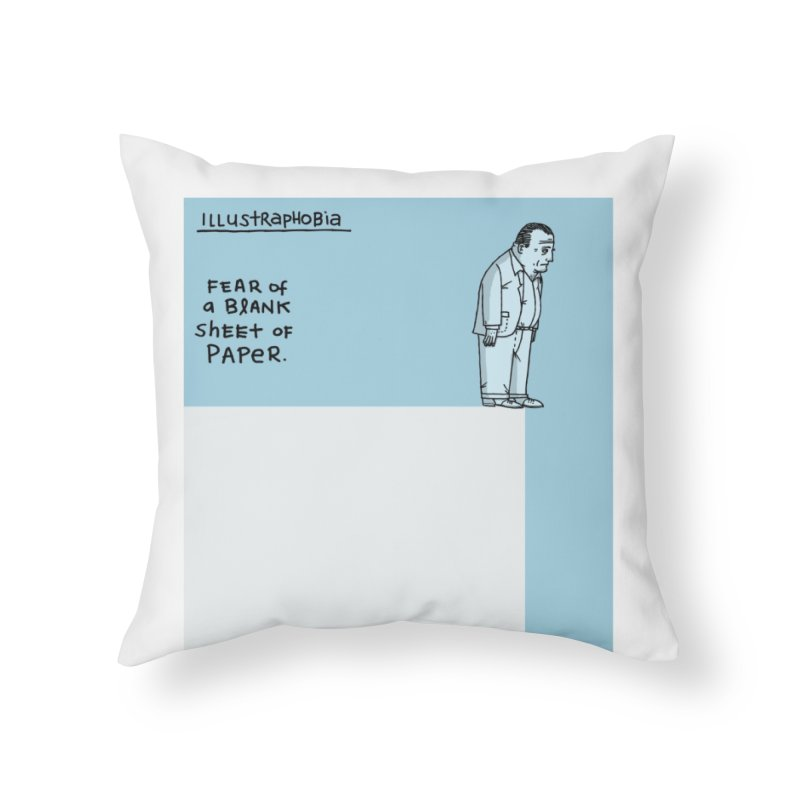 Illustraphobia Home Throw Pillow by DRAWMARK