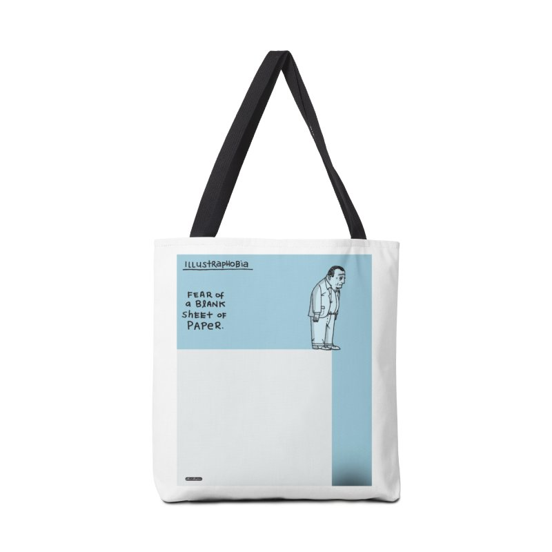 Illustraphobia Accessories Tote Bag Bag by DRAWMARK