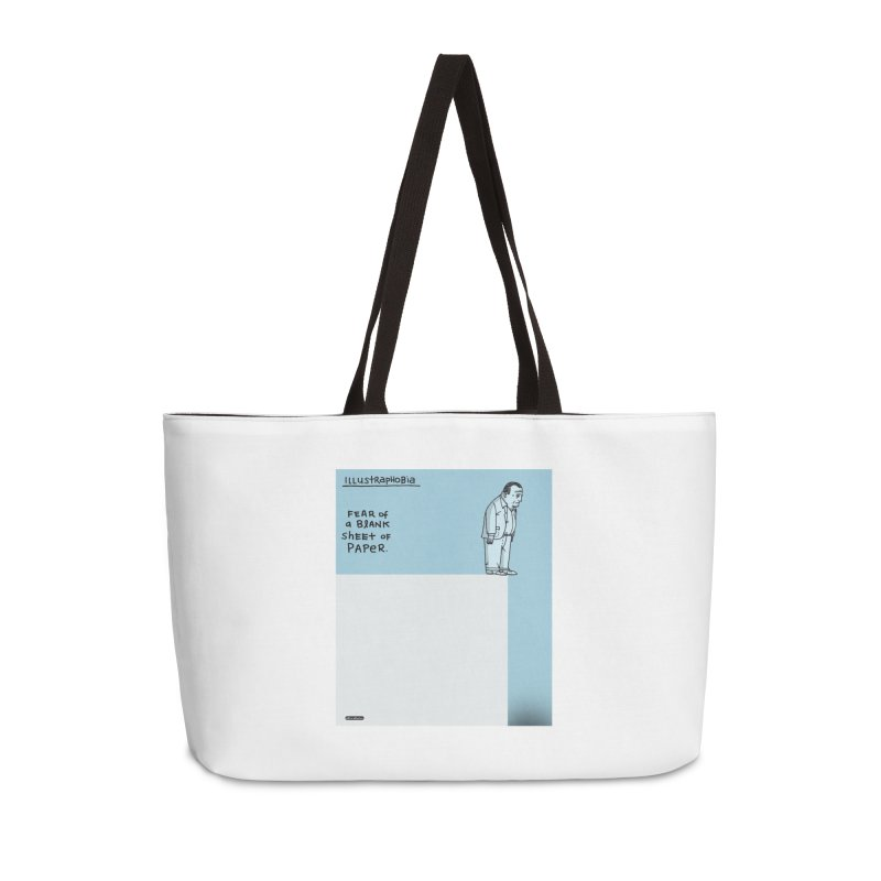 Illustraphobia Accessories Weekender Bag Bag by DRAWMARK