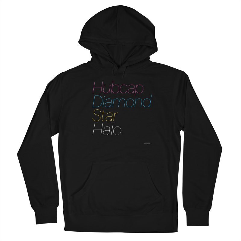 Hubcap Diamond Star Halo Women's Pullover Hoody by DRAWMARK