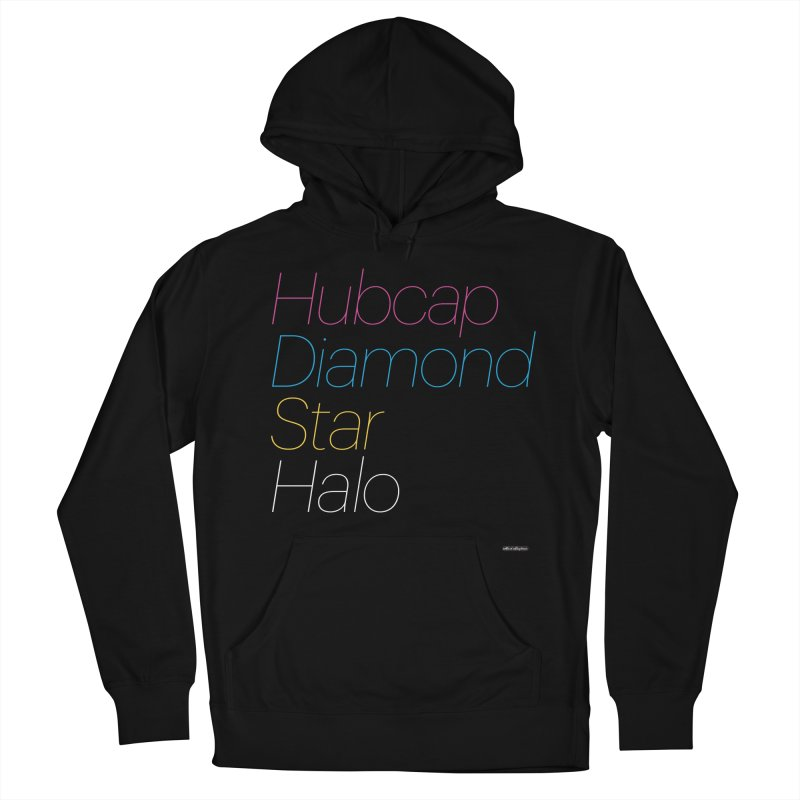 Hubcap Diamond Star Halo Men's French Terry Pullover Hoody by DRAWMARK