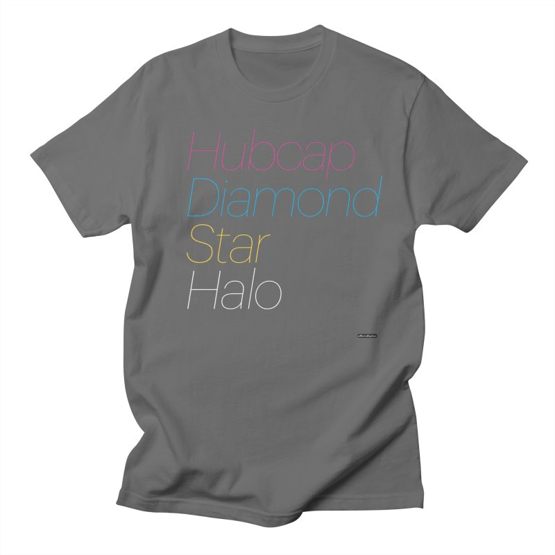 Hubcap Diamond Star Halo Women's  by DRAWMARK