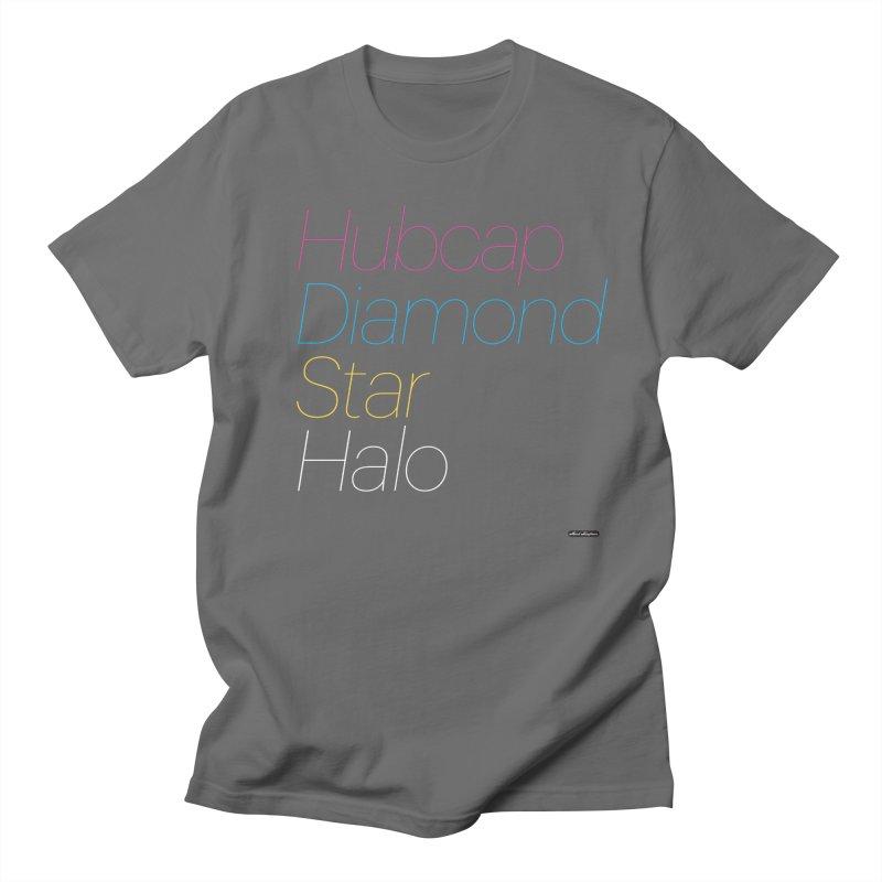 Hubcap Diamond Star Halo Women's T-Shirt by DRAWMARK