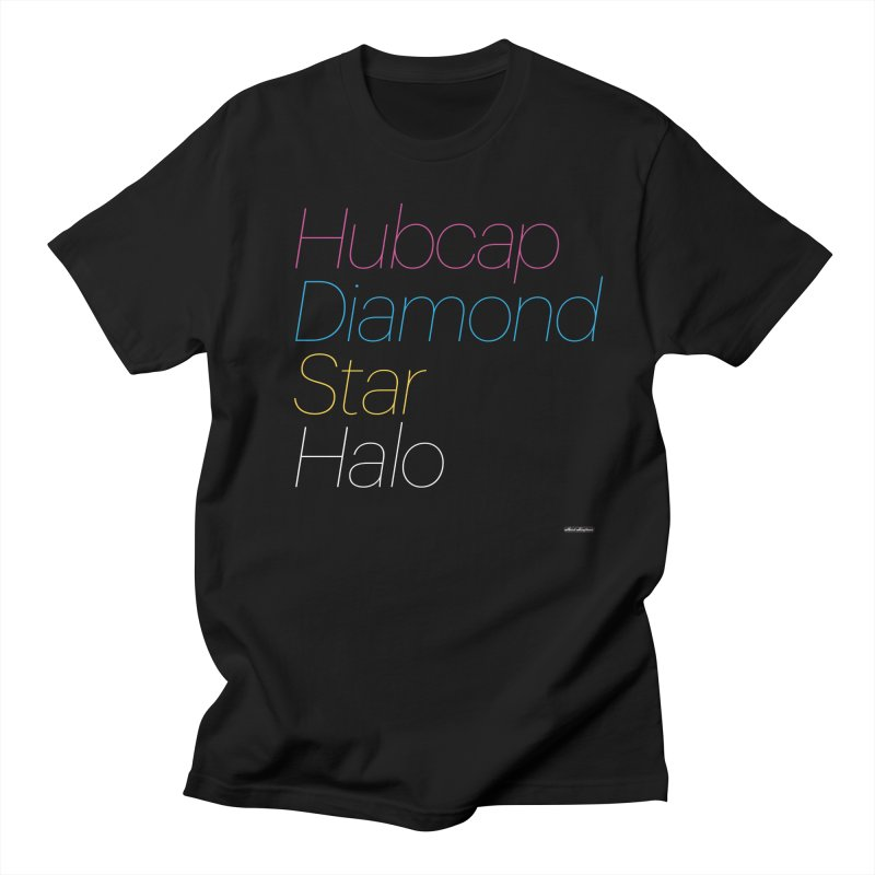 Hubcap Diamond Star Halo Men's Regular T-Shirt by DRAWMARK