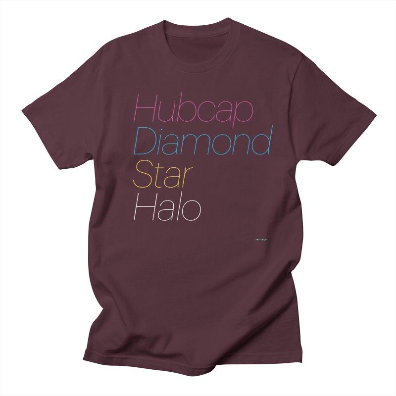 Hubcap Diamond Star Halo Women's Regular Unisex T-Shirt by DRAWMARK