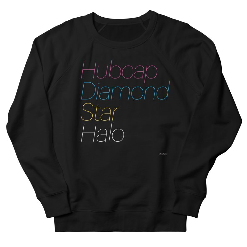 Hubcap Diamond Star Halo Men's French Terry Sweatshirt by DRAWMARK