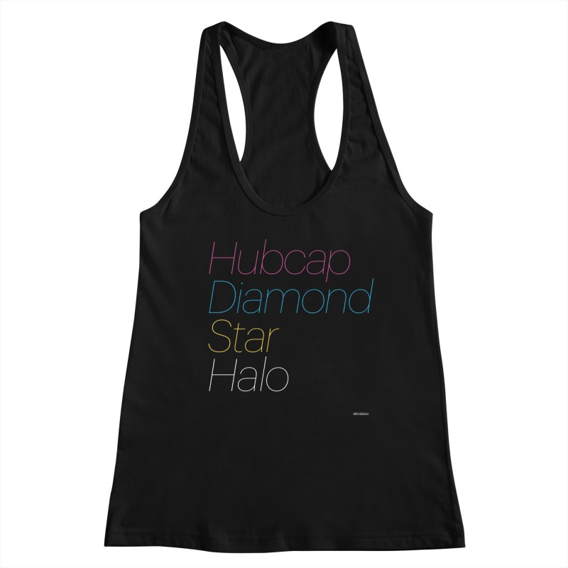 Hubcap Diamond Star Halo Women's Tank by DRAWMARK
