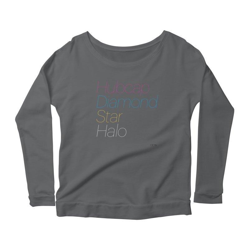 Hubcap Diamond Star Halo Women's Longsleeve T-Shirt by DRAWMARK