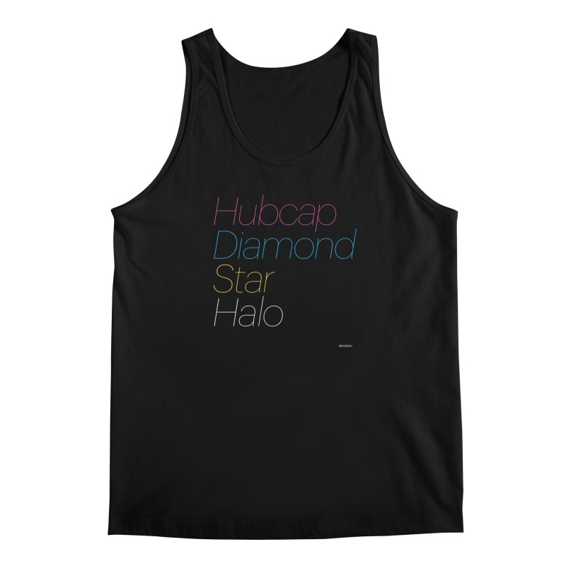 Hubcap Diamond Star Halo Men's Regular Tank by DRAWMARK